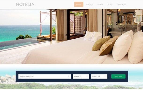 Hotelia - 36+ Amazing Travel, Agencies, Hotels WordPress Themes [year]
