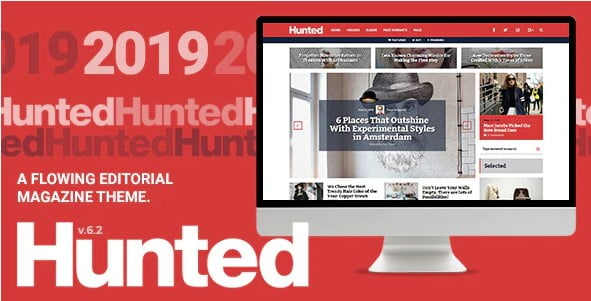 Hunted - 35+ Nice Hunting and Weapon For WordPress Themes [year]