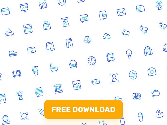 Iconspace - 35+ Awesome Free E-Commerce Icon Sets [year]
