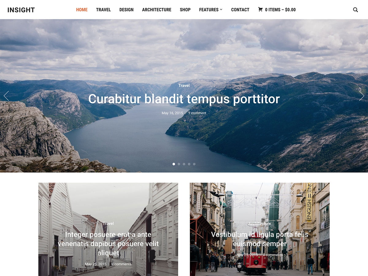 Insight-1 - 30+ Awesome Travel Blog WordPress Themes [year]