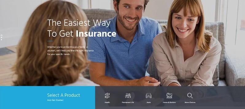 InsuRel - 36+ Amazing WordPress Insurance Themes [year]