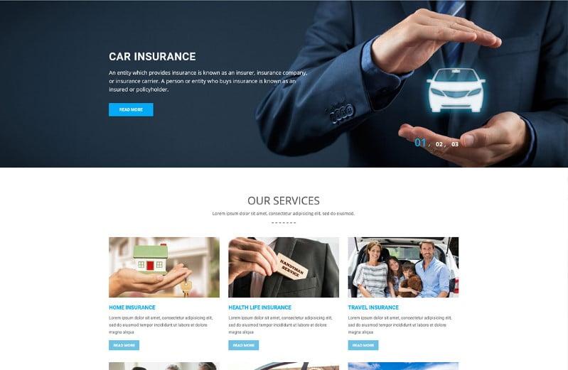 Insurers-1 - 36+ Amazing WordPress Insurance Themes [year]
