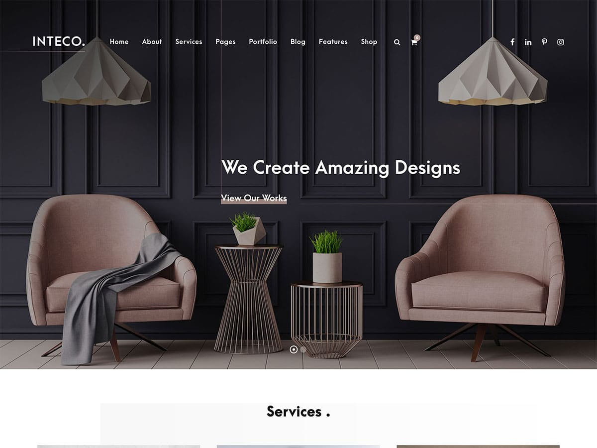 Inteco - 30+ Top Quality WordPress Themes For Interior Design [year]
