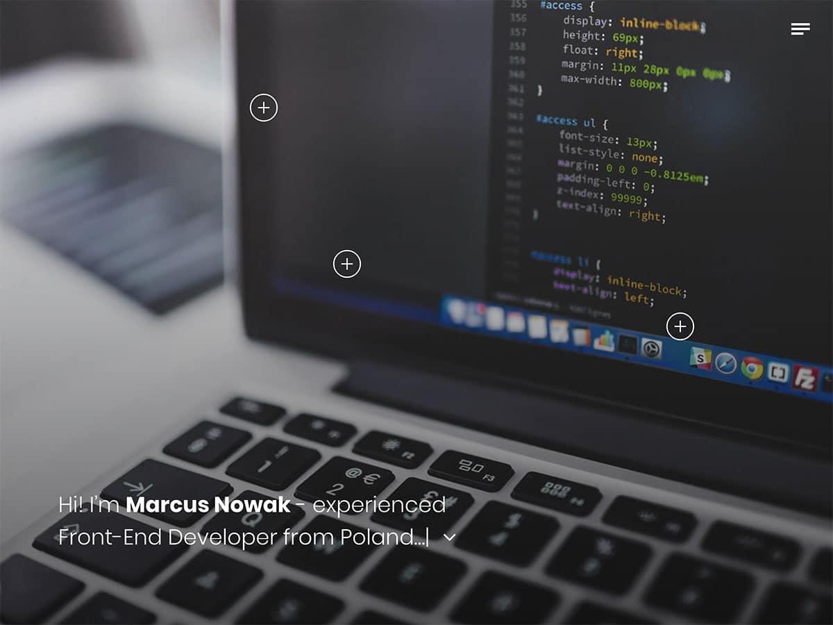 Jab - 31+ Nice WordPress Themes For Resume [year]