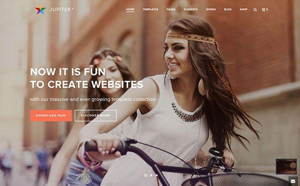 Jupiter-2 - 36+ Awesome WordPress Marketing Themes [year]