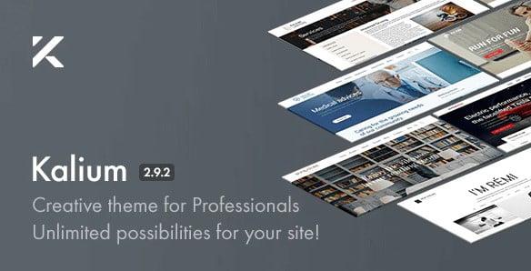 Kalium-2 - 36+ Nice Bookstore WordPress Themes [year]