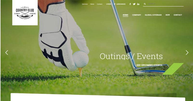 Kallyas-2 - 36+ Nice WordPress Golf Themes For Golf Clubs Websites [year]