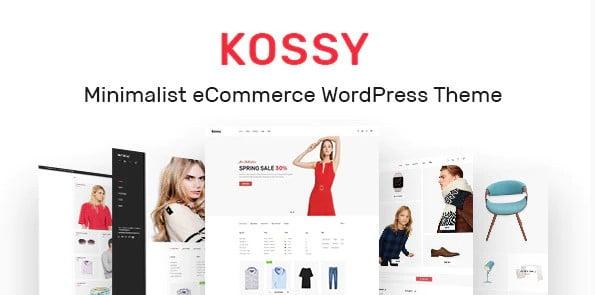 Kossy - 36+ Nice Bookstore WordPress Themes [year]