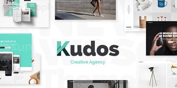 Kudos - 36+ Awesome WordPress Marketing Themes [year]