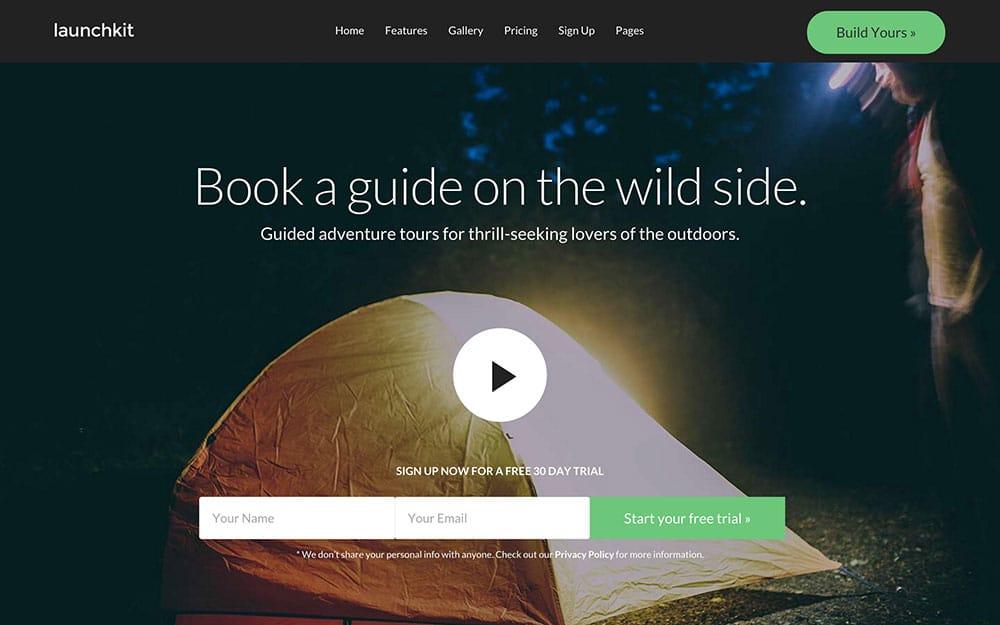 Launchkit - 36+ Amazing Travel, Agencies, Hotels WordPress Themes [year]