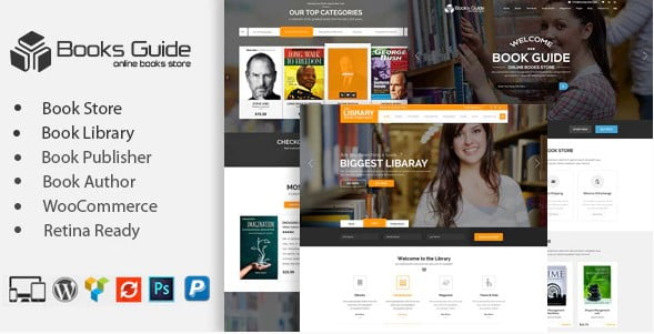 Librarian-Bookseller-WordPress-Themes - 31+ Nice Librarian & Bookseller WordPress Themes [year]