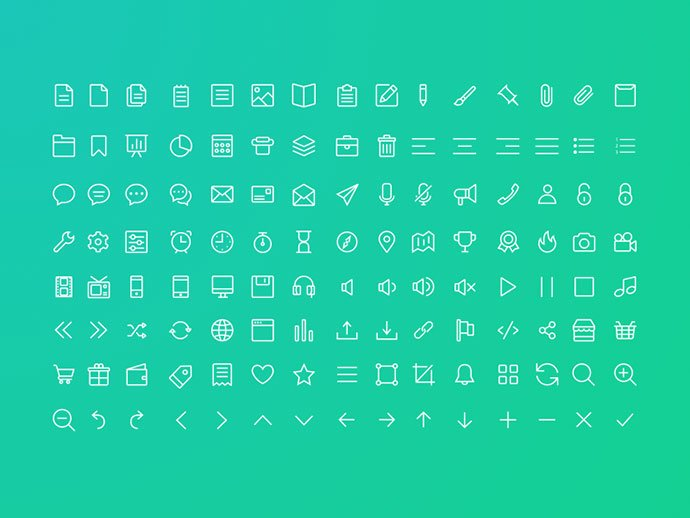Line-Icon-Set - 35+ Awesome Free E-Commerce Icon Sets [year]