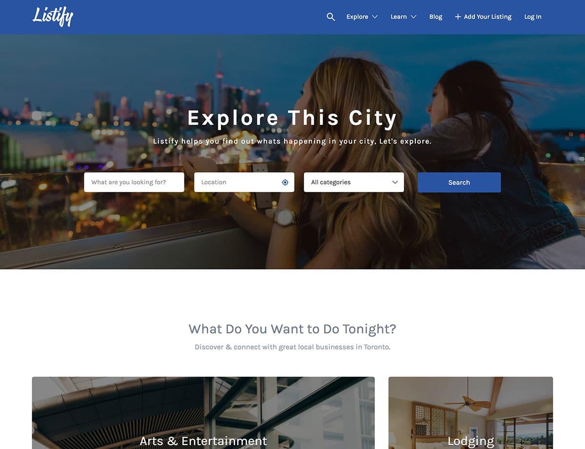 Listify - 46+ Stunning WordPress Directory Themes [year]