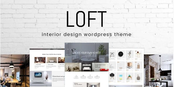 Loft - 30+ Top Quality WordPress Themes For Interior Design [year]