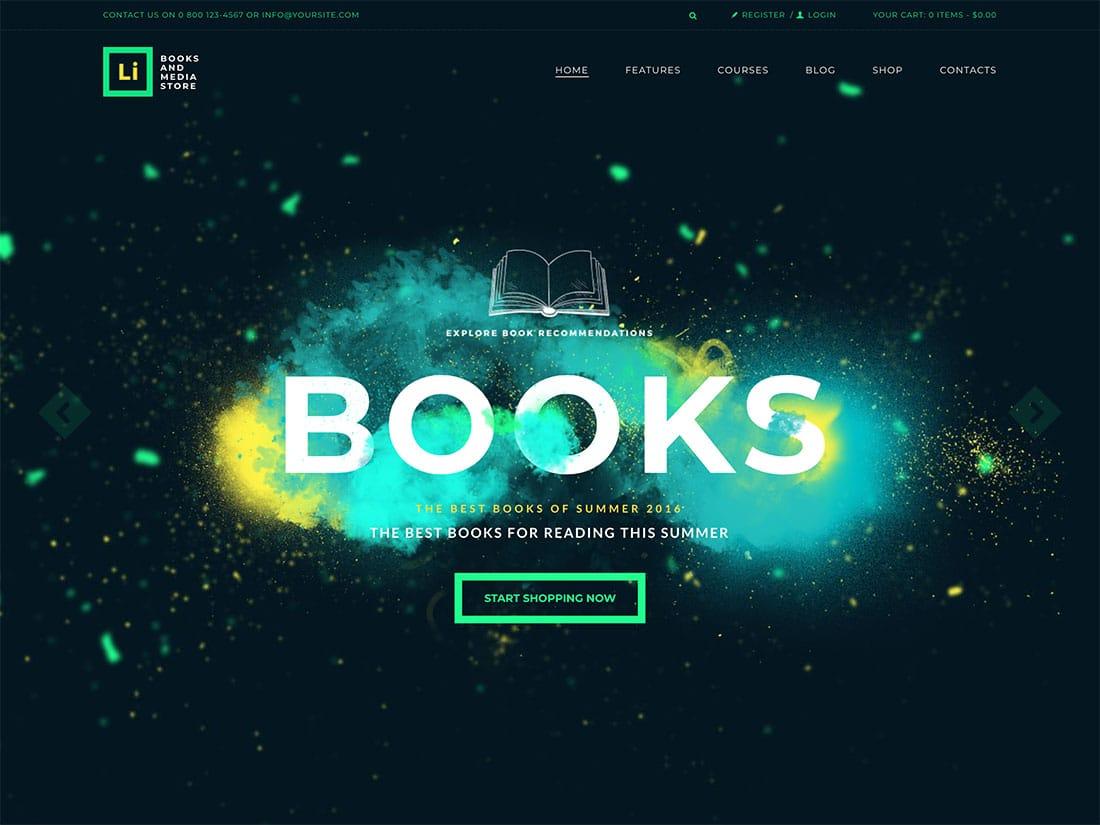 Lorem-Ipsum-1 - 36+ Nice Bookstore WordPress Themes [year]