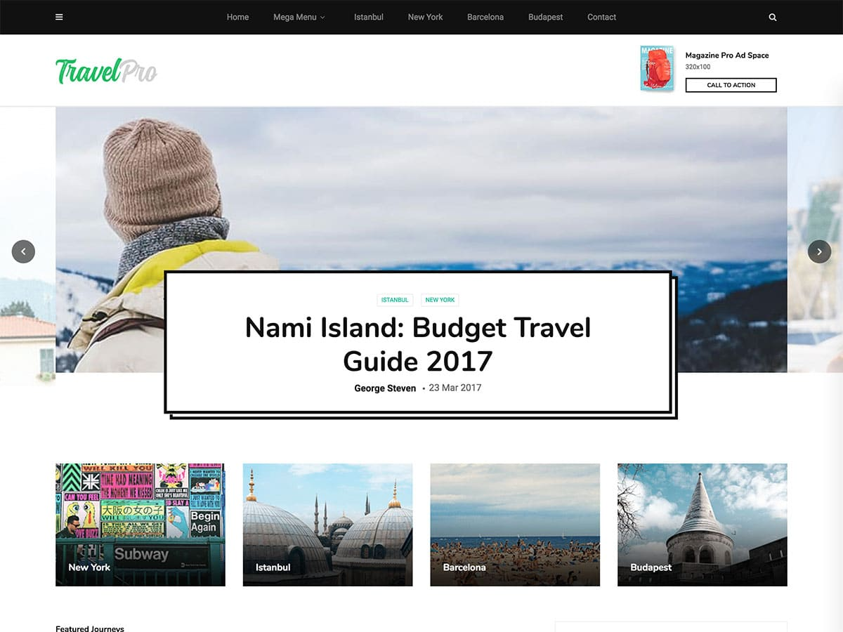 MagPlus-1 - 30+ Awesome Travel Blog WordPress Themes [year]