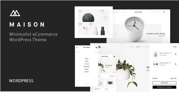 Maison - 36+ Nice Bookstore WordPress Themes [year]