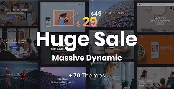 Massive-Dynamic - 36+ Top Quality WordPress Themes For Coffee Shop [year]