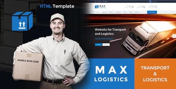 Max-Logistics - 36+ Amazing Electricians WordPress Themes [year]