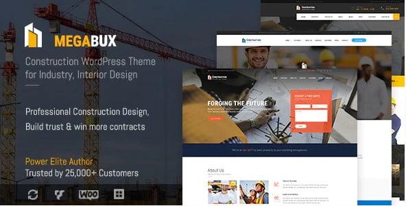 MegaBux - 36+ Awesome Plumbers WordPress Themes [year]