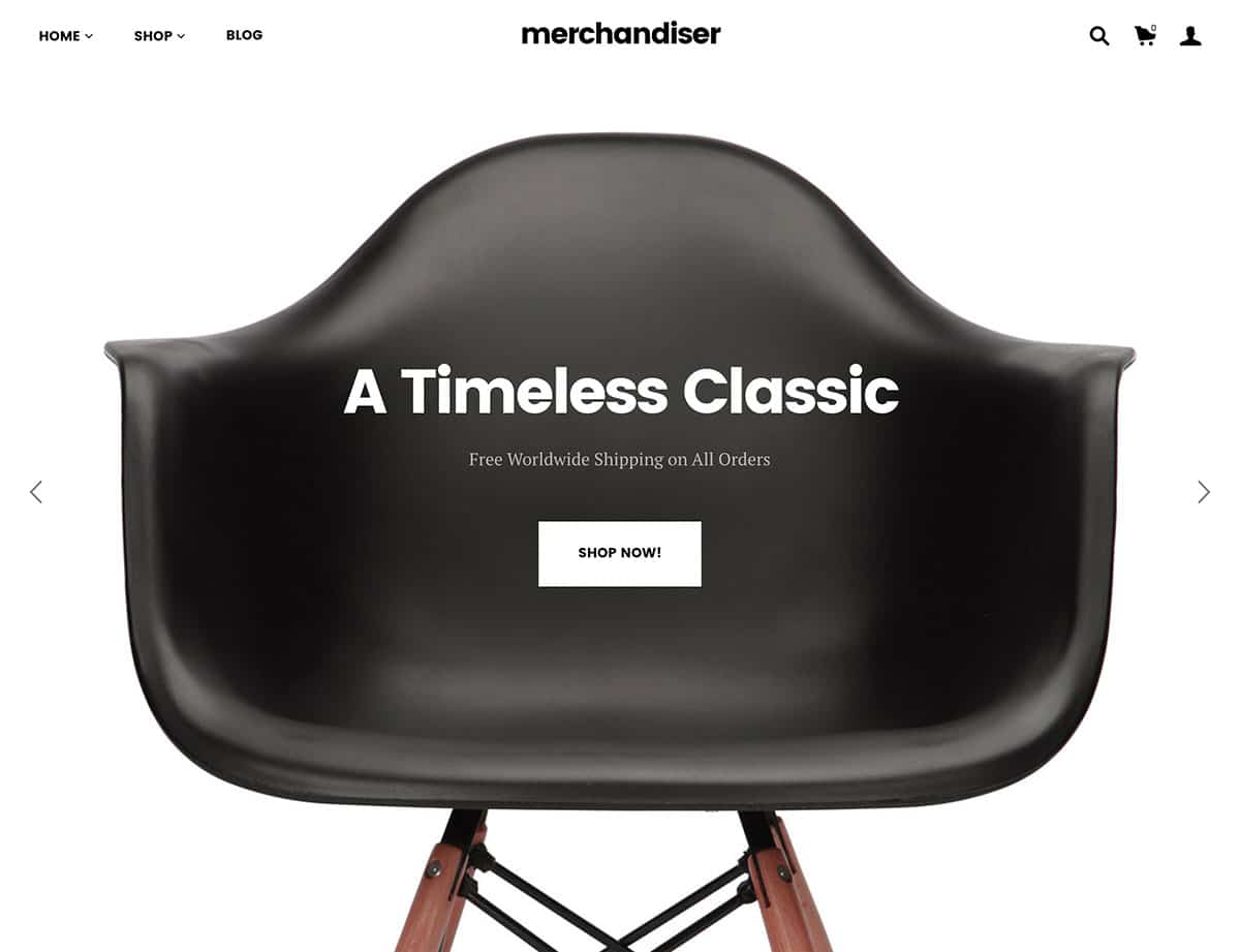 Merchandiser - 41+ Top WordPress Themes For Woocommerce [year]
