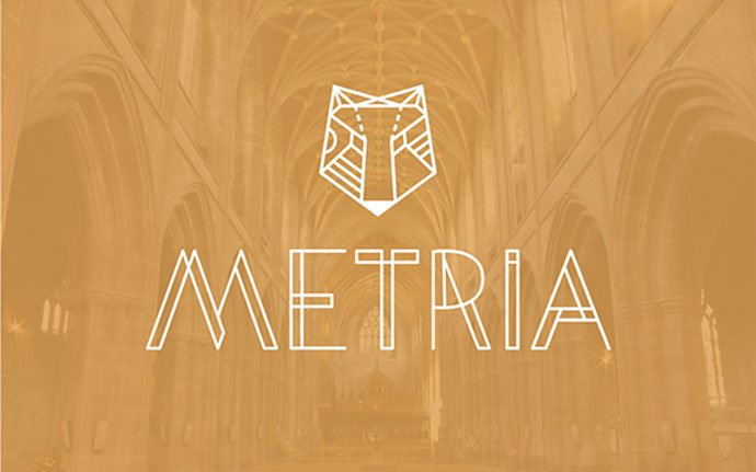 Metria-Free-Display - 31+ Amazing Free Double & Multi Line Fonts For Developer [year]