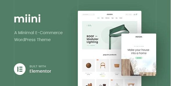 Miini - 36+ Nice Bookstore WordPress Themes [year]