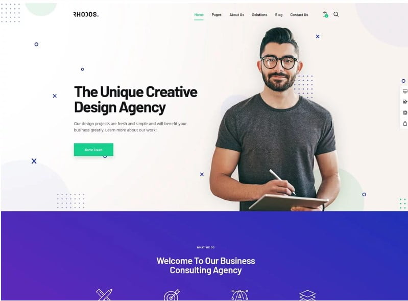 Minimalist-WordPress-Themes - 36+ Awesome Minimalist WordPress Themes [year]