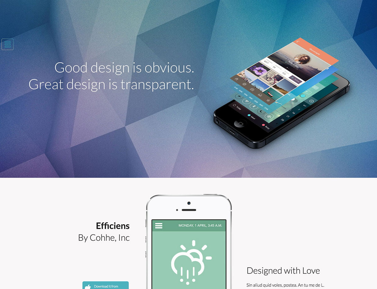 Mobera - 40+ Amazing WordPress App Showcase Themes [year]