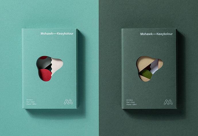 Mohawk-Keaykolour - 35+ Awesome Die Cut Packaging Designs Template [year]