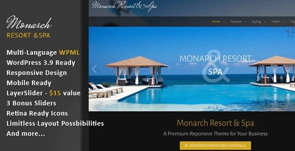 Monarch - 35+ Nice WordPress Themes For Nightclub [year]