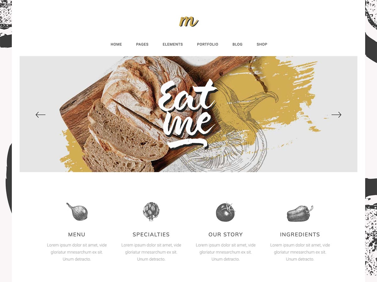 Morsel-1 - 30+ Amazing Bakeries WordPress Themes [year]