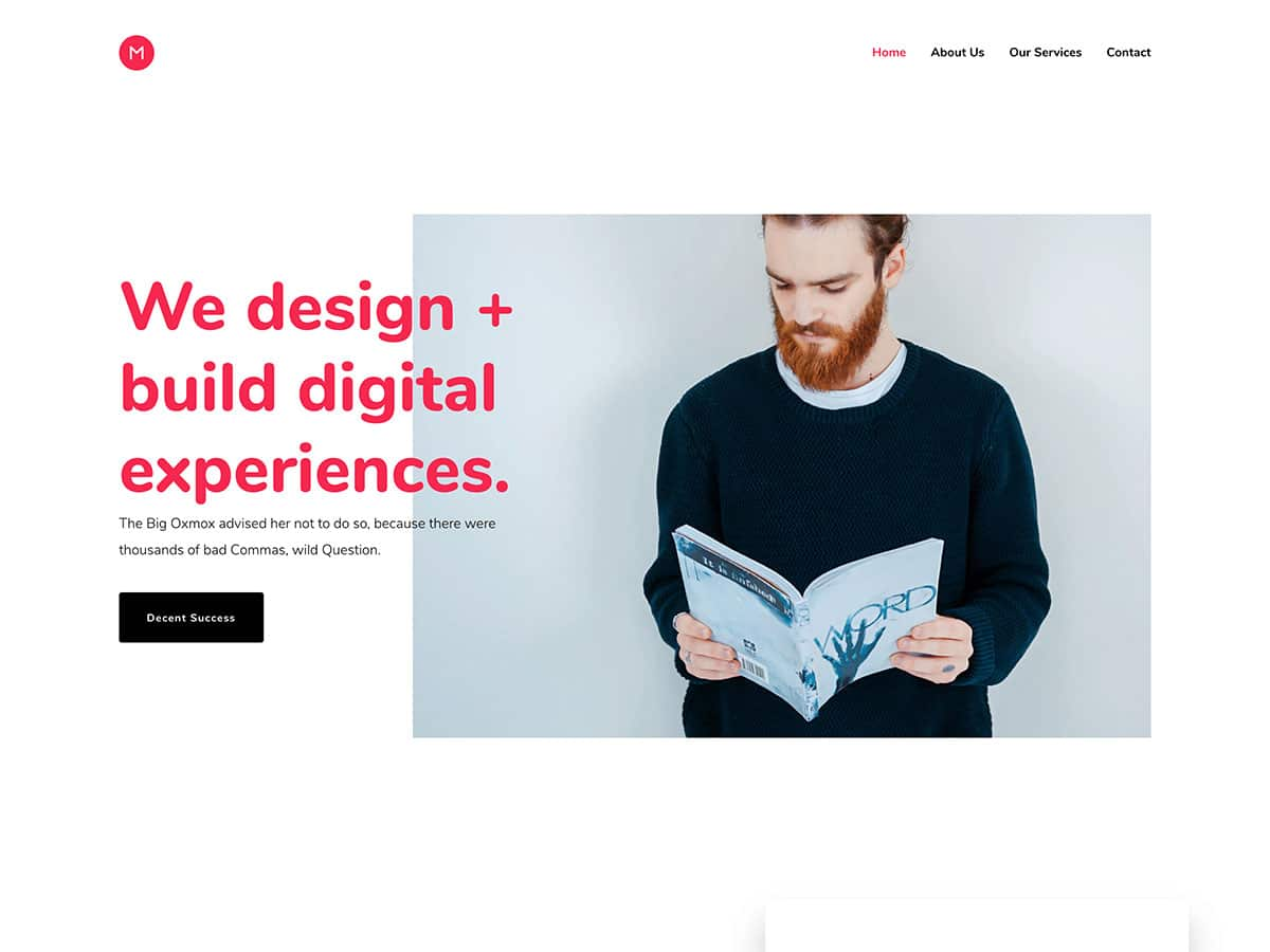 Movedo - 31+ Amazing WordPress Themes For Creative [year]