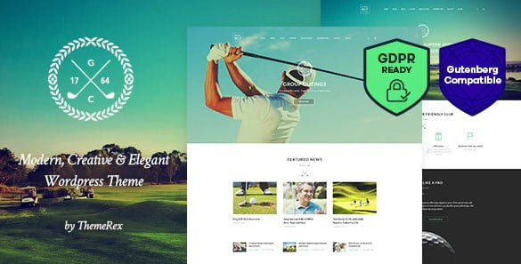 N7 - 36+ Nice WordPress Golf Themes For Golf Clubs Websites [year]