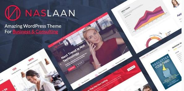 Naslaan - 36+ Amazing WordPress Insurance Themes [year]