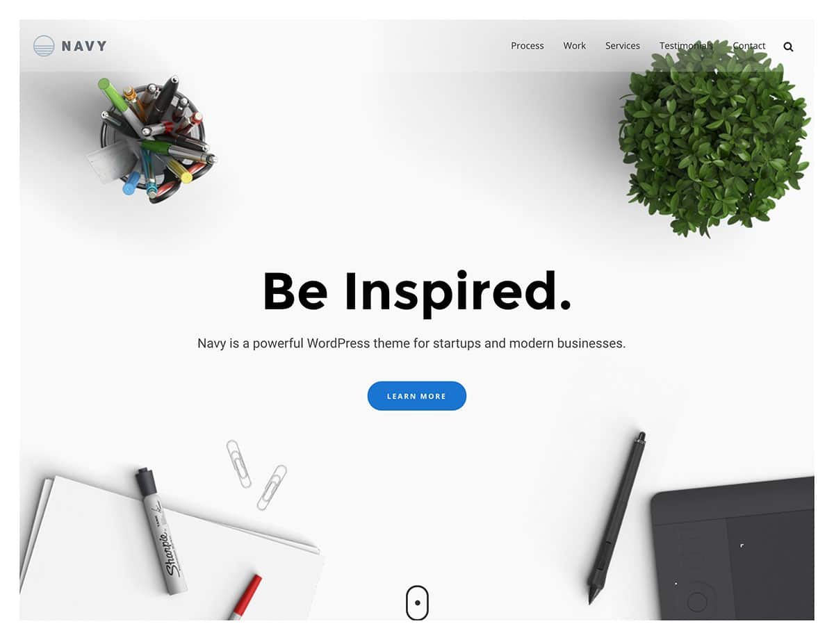 Navy - 40+ Awesome WordPress Themes For Creative Agency [year]