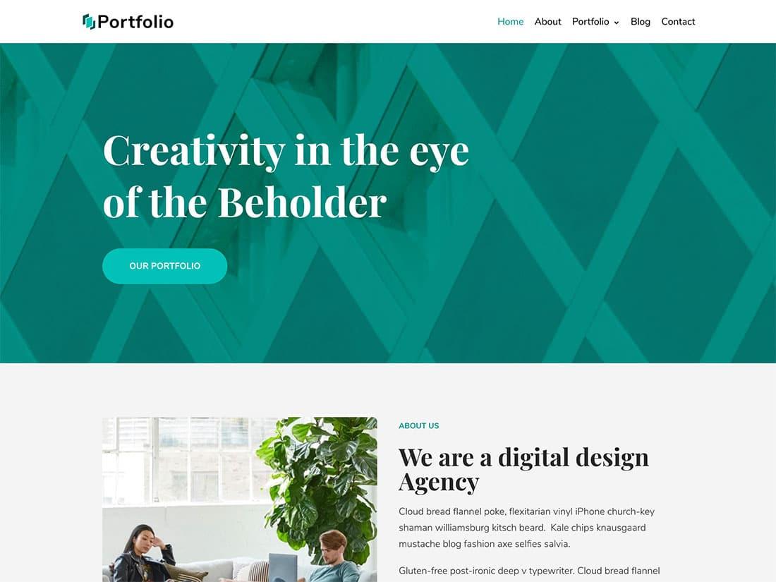 Neve-2 - 46+ Nice Free WordPress Portfolio Themes [year]
