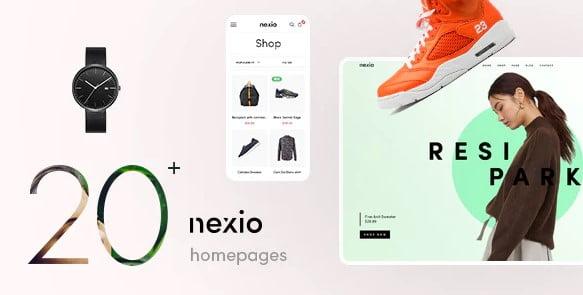 Nexio - 36+ Responsive WordPress SEO Friendly Themes [year]