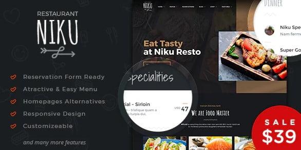 Niku - 36+ Awesome WordPress Digital Products Selling Themes [year]