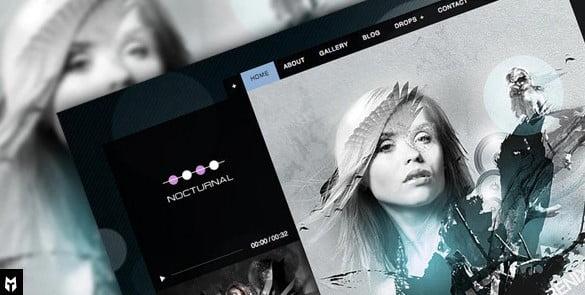 Nocturnal - 35+ Nice WordPress Themes For Nightclub [year]
