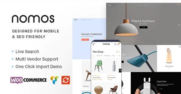 Nomos - 36+ Responsive WordPress SEO Friendly Themes [year]