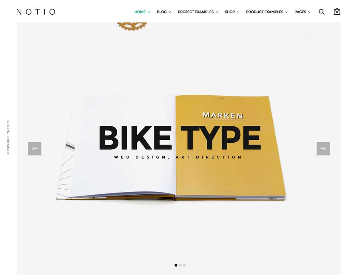 Notio - 40+ Awesome WordPress Themes For Creative Agency [year]
