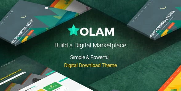 Olam-1 - 36+ Awesome WordPress Digital Products Selling Themes [year]
