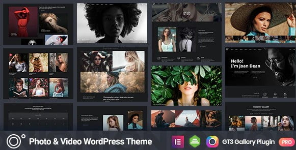 Oni - 51+ Nice Free WordPress Themes For Photography [year]
