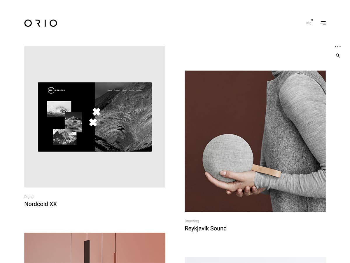 Orio - 31+ Amazing WordPress Themes For Creative [year]