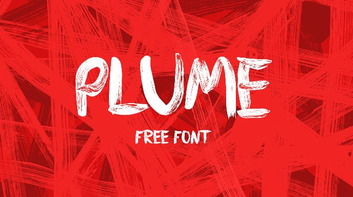 PLUME - 51+ Free Fonts For Calligraphy & Hand Lettering [year]