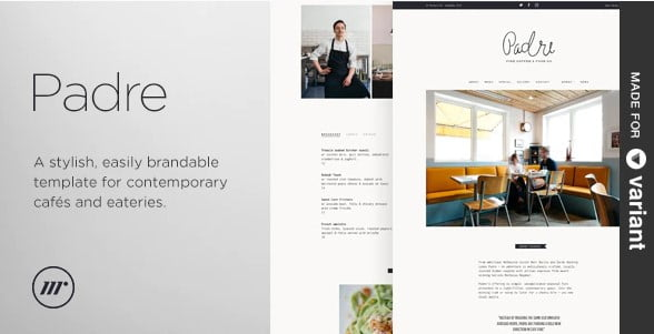 Padre - 35+ Nice Hunting and Weapon For WordPress Themes [year]