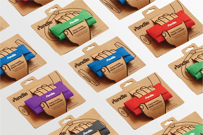 Pandle - 35+ Awesome Die Cut Packaging Designs Template [year]