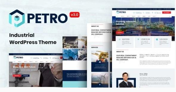Petro - 36+ Best Quality Retro WordPress Themes [year]