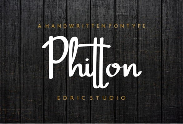 Phitton-Font-1 - 31+ Amazing Free Double & Multi Line Fonts For Developer [year]